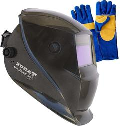 Tanox Auto Darkening Solar Powered Welding Helmet ADF-206S: