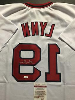 autographed signed fred lynn boston
