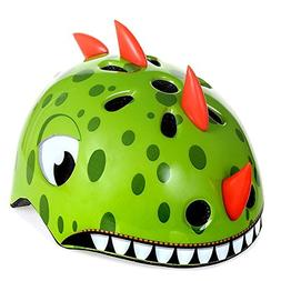 shuangjishan Awesome Boys/Girls Dinosaur Safety Helmet Child