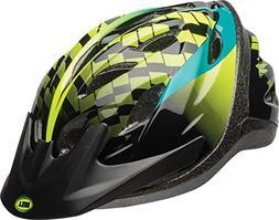 Bell Axel Youth Bike Helmet, Emerald Hyperactive