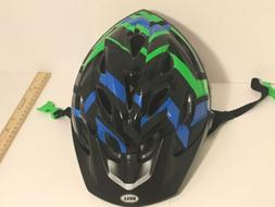 BELL Axle Youth Bicycle Helmet With Visor Age 8-14 Blue And