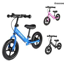 Baby Balance Bike Bicycle Walker Without Foot Pedal Toddler