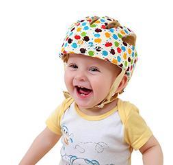 Baby Adjustable Safety Helmet Children Headguard Infant Prot