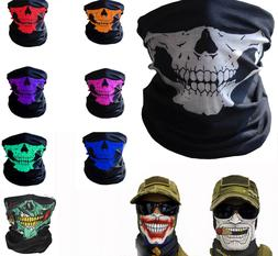 Balaclava Mask Skull Face Biker Dust Weather Motorcycle Neck