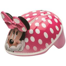 Bell Disney Minnie Mouse 3D Bike Helmet, Pink Polka Dots, To