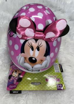 Bell Sports Disney Minnie Mouse Toddler 3D Helmet, Pink