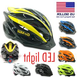 GoMax Bicycle Helmet Safety Cycling MTB Adult Mountain Road