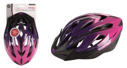 Huffy Bicycle Helmet Womens Adult - Sport Model - Purple NEW