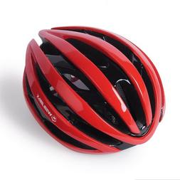 Bicycle Helmet With LED Warning Lights Ultralight Road Mount