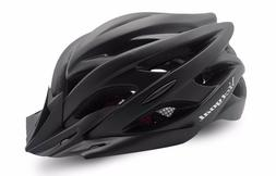 Bicycle Helmets Men Women Matte Black Helmet Back Light Moun