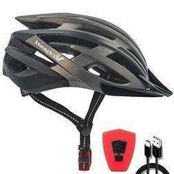 Bike Helmet Accessories Bike LED Portable Men Woman Helmet B