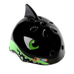 Crazy Mars Kids Bike Helmet Shark Bicycle Cycling Helmet Bla