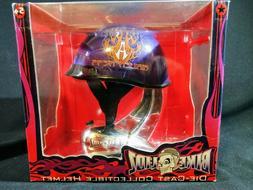 Toy Zone Bike Lidz Die-Cast Collectible Purple Helmet Arlen
