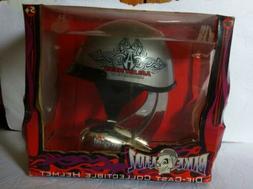 Toy Zone Bike Lidz Die-Cast Collectible Silver Helmet Arlen