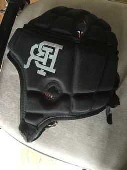 Gamebreaker Black Padded Helmet Multi-Sport Headgear Protect