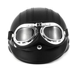 Black Synthetic Leather vintage Motorcycle Motorbike Vespa O
