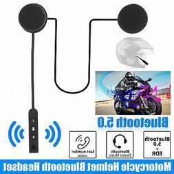 bluetooth 5 0 helmet motorcycle headset speakers