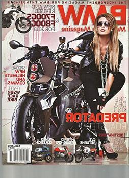 BMW MOTORCYCLE MAGAZINE, FALL, 2012