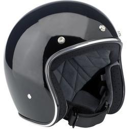 Biltwell Bonanza Helmet - Gloss Black  by Biltwell