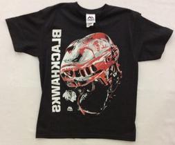 Majestic Boy's Chicago Blackhawks Odd Man Rush Helmet Shirt,