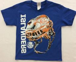 Majestic Boy's New York Islanders Odd Man Rush Helmet Shirt,