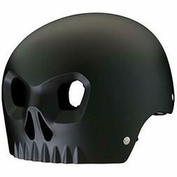 boy skull black helmet