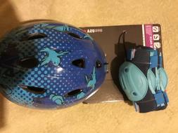 Brand new Child's Bike Helmet, Knee Pads and Elbow Pads - bl