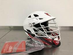 BRAND NEW Cascade S Lacrosse Helmet WHITE/BLACK/RED NWT