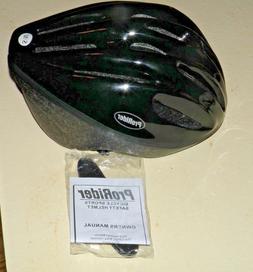 BRAND NEW ProRider Unisex Black Bicycle Helmet  S/M  21 1/4