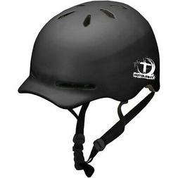 Thruster BTX Adult Bicycle Helmet, Matte Black - Adult 13+