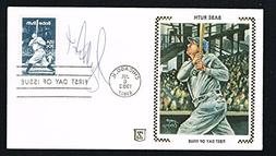 Bucky Dent signed autograph Postal Cover Baseball New York Y