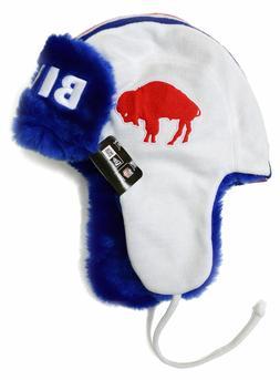 Buffalo Bills Throwback New Era Helmet Head Knit Trapper, On
