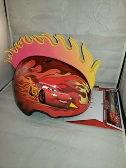 CARS KIDS HELMET FLAMEHAWK AGE 3-5 CPSC ASTM MULTI-SPORT DIS