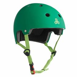 Triple Eight 3027 Dual Certified Helmet, Small/Medium, Kelly