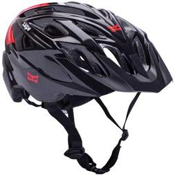 Kali Protectives Chakra Solo Helmet: Neo Black/Red SM/MD