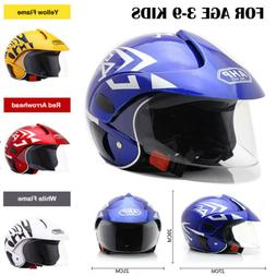 Children's Motorcycle Helmet Bike Motor Safety Warm Comforta