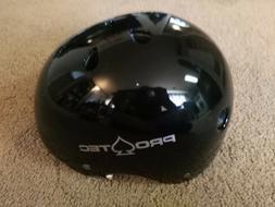 PROTEC Classic Black Gloss Size XL Skate BMX Bike Helmet New