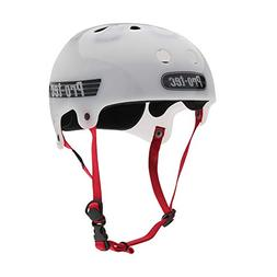 Pro-Tec The Bucky, Translucent White, L