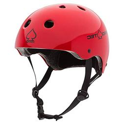 Pro-Tec Classic Cert, Gloss Red, S