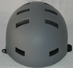 Critical Cycles Classic Commuter Bike, Skate Helmet Graphite