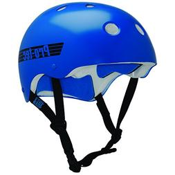 PROTEC Original Classic Helmet, Gloss Blue Retro, Large