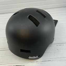 Critical Cycles CM-1 Bicycle BMX Helmet Medium Black