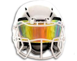 EliteTek COLOR Football Helmet Visor  - Universal Fit for Yo