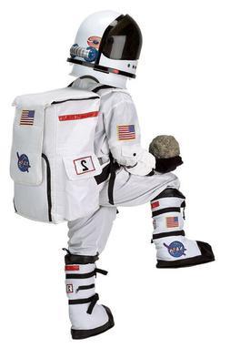 complete astronaut costume nasa white suit cap
