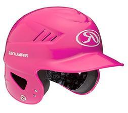 Rawlings Coolflo T-Ball Molded Batting Helmet Pink  6 1/4-6
