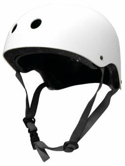 CPSC Skateboard Fitness Inline Helmet ADULT OSFA WHITE/GRAY
