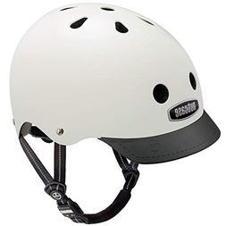 Nutcase - Solid Street Bike Helmet for Adults, Cream, Medium