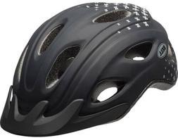 Bell Sports Curve Womens Bike Helmet, Black Petals Age 14+ N