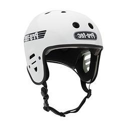 Pro-Tec Full Cut Helmet: Gloss White MD
