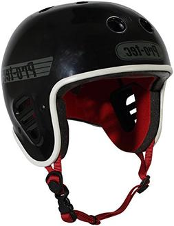 Pro-Tec Full Cut Certified Multi-Sport Helmet, Gloss Black,